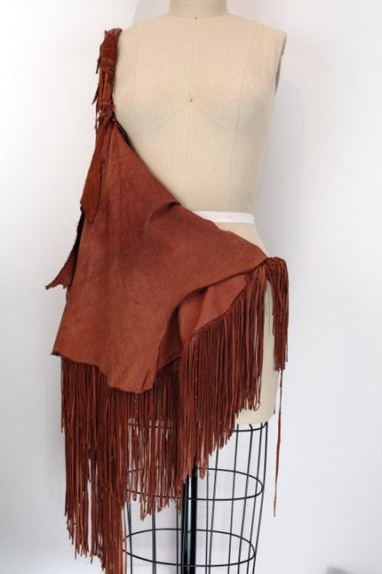 Iroquois Fringe Bag