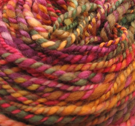 Nothing softer. BFL handspun wool yarn, 3 oz., 76 yards