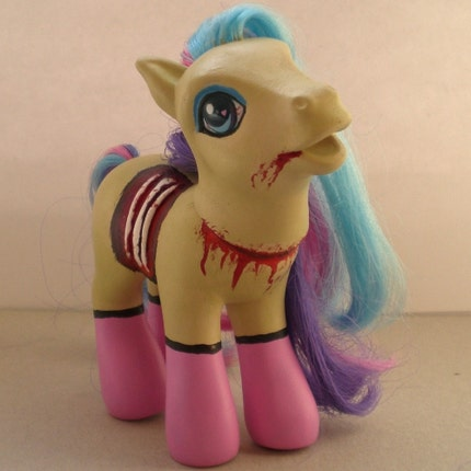 Zombie pinup my little pony 2