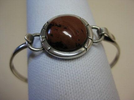 Brown Stone - bracelet