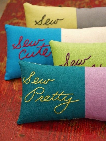 Sew Pretty Pin Pillow