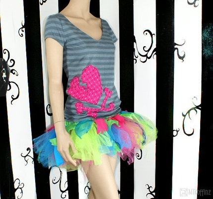 Neon Kawaii Trashy Fairy TuTu adult med
