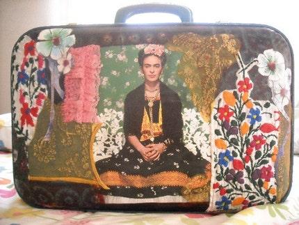 Frida Kahlo suitcase
