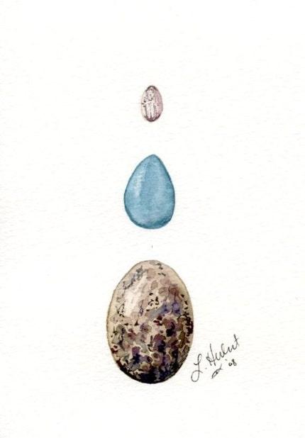 Triple Egg Print