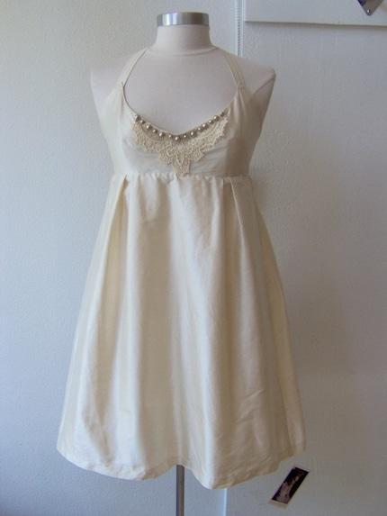 Fairest of Them All - Silk Taffeta Wedding Dress Made To Order