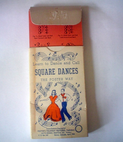 Learn To Square Dance and Call The Foster Way Vintage 1941