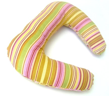 Amy Butler  - Preemie to Infant  Head Rest Pillow - Baby Travel Neck Support Luxury Lounge Wrap