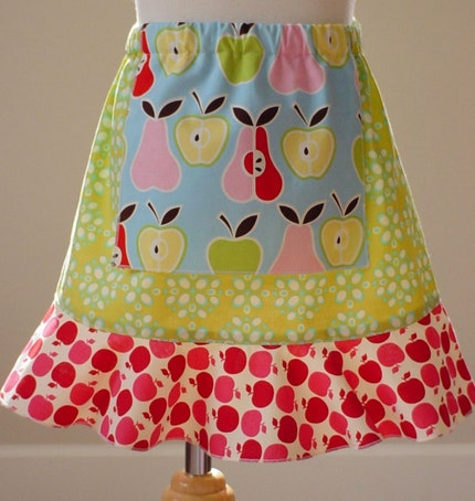 Apples to Apples .. Flirty Skirty by PrettyMe 12m 18m 2 4 6 Custom Size Limited Edition theBetties