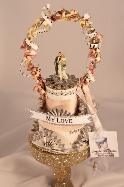 My Love Wedding Topper - WT007