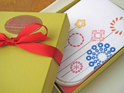 Note Card Gift Box