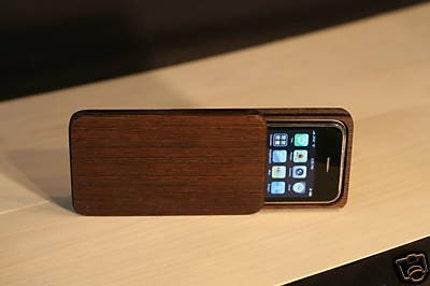 Wood iPhone Case - Custom handmade box for iPhone 3G