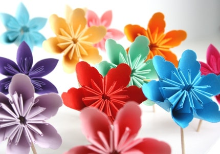 paper flowers to make. Amazing Wedding Paper Flowers