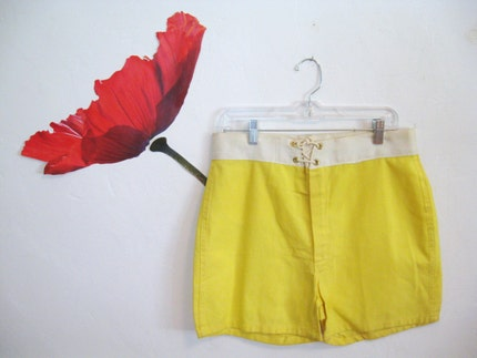 60s  COOL surfer SHORTS swim TRUNKS