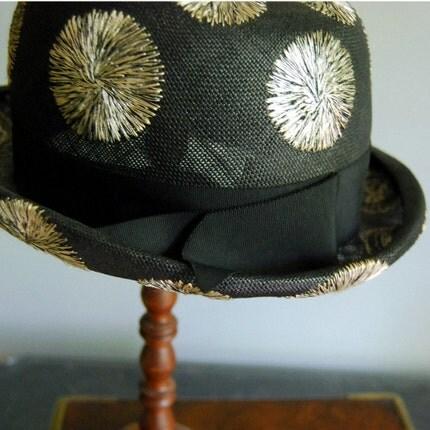 Lilly Dache Vintage Dachette Straw Hat