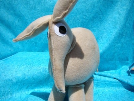 Avery the Aardvark Plush Toy
