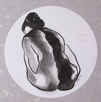 nude female figure by Gallery Juana