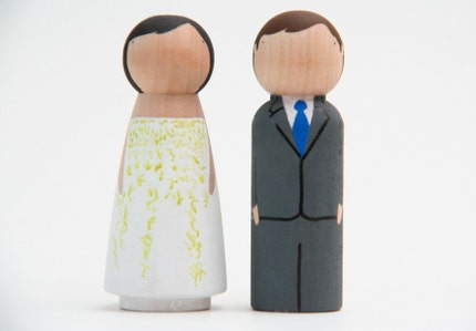 custom wedding cake toppers by GooseGrease