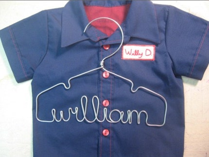 Willy D. Baby Work Shirt and Hanger