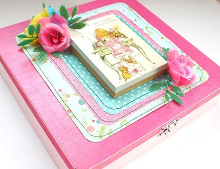 Friendly Thoughts -- Sweet Pink Trinket Box