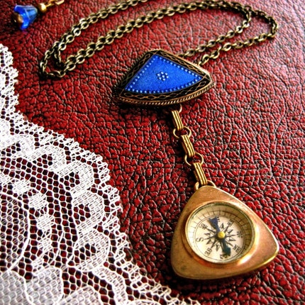 Handmade Jewelry on Etsy - the edwardian explorer by t8designs from etsy.com