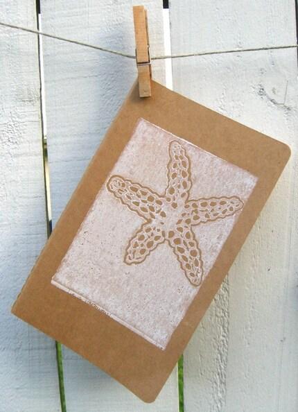 Moleskine Journal- Starfish