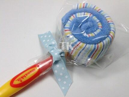 Lollipop Spoon Washcloth