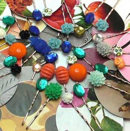 Bobbi Twin Pins Mix and Match Womens Hair Pins