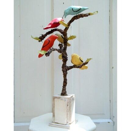 Folk Bird Tree