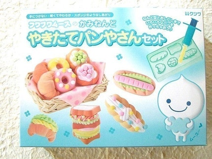 Kawaii Cute Japanese Mousse Paper Clay Bread Making Kit - Bakery Store - Make Your Original Clay Bread