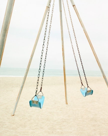 Swings, 8X10 Fine Art Print