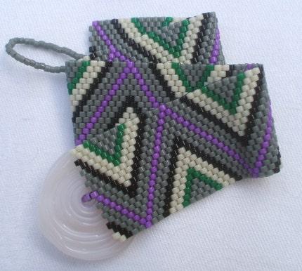 Miss Mix's Victorian Zig Zag Bracelet