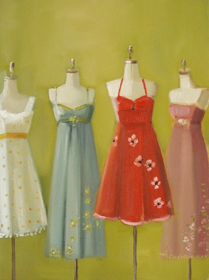 Summer Dresses- Large Print