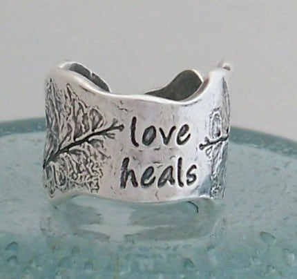 Love Heals Fern Ring