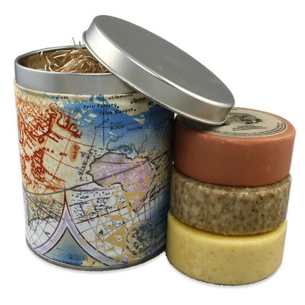 World Map Gift Tin