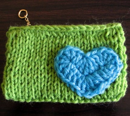 tropical sweetheart change purse