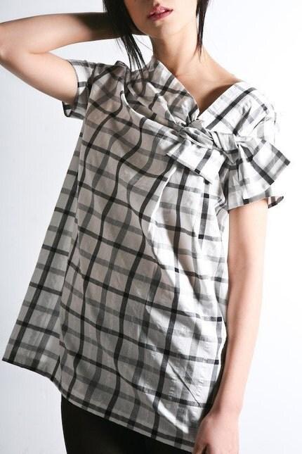 check mate slanted bow top (small or medium)