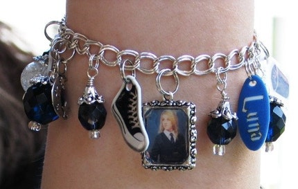 Handmade Luna Charm Bracelet Harry Potter Inspired