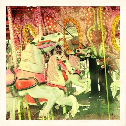carousel Fine Art Print