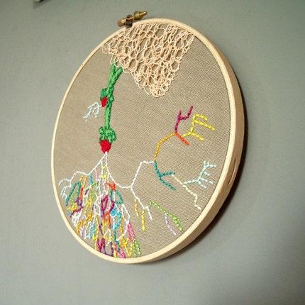 kaleidoscope - embroidery