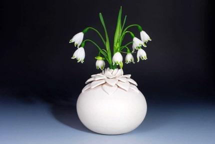 Lotus Vase ceramic