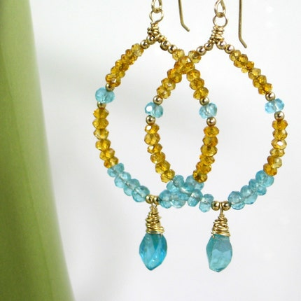 Isis Handmade Earrings from Gahooletree on Etsy