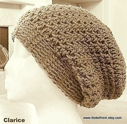 Free Crochet Patterns For Tam Hats : CROCHETED SLOUCHY HAT PATTERNS - Crochet and Knitting Patterns