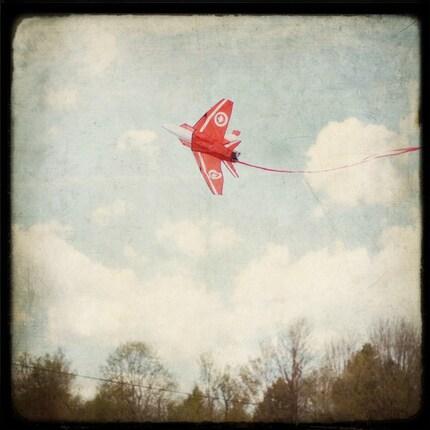 Kite flight - Original Signed Fine Art Photograph