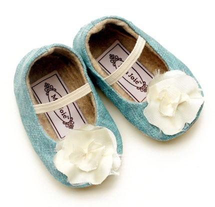 Bloom Baby / Toddler Shoes in Dusty Blue