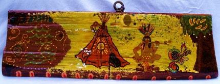 Indian Dreams - Hong Kong Willie - Original Art