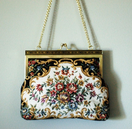 Vintage Coin Purse Style Evening Bag