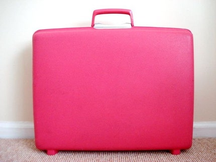 Vintage 1960s Twiggy WEEKEND Suitcase
