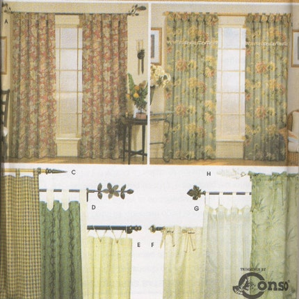 Curtains, Drapes & Window Treatments - Tab Top Curtains