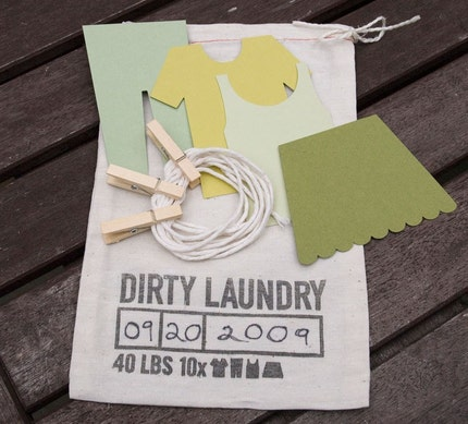 little ant design: dirty laundry