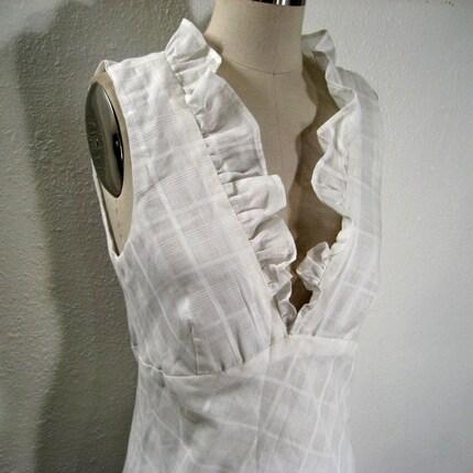 SAMPLE SALE-French Ruffle Tea Dress